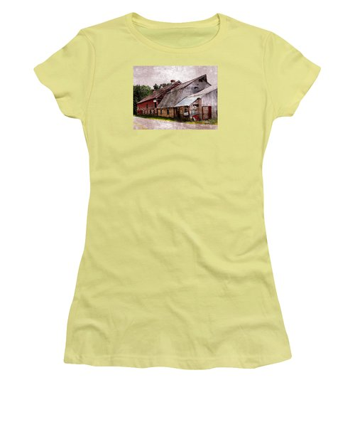 A Barn With Many Purposes Women's T-Shirt (Athletic Fit)