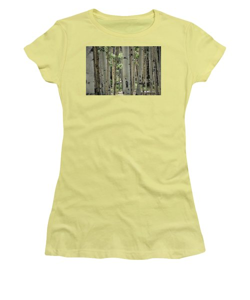 A Change Of Weather  Women's T-Shirt (Junior Cut) by Saija  Lehtonen