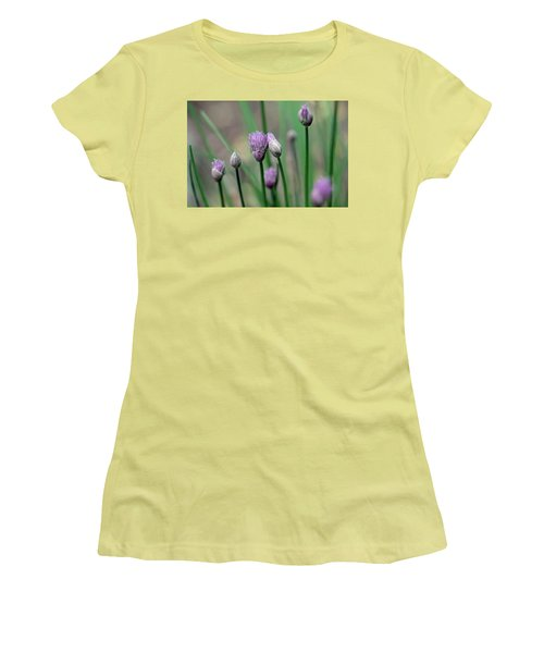 A Culinary Necessity Women's T-Shirt (Junior Cut) by Debbie Oppermann