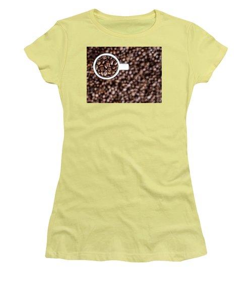 A Familiar Blend Women's T-Shirt (Junior Cut) by Aaron Aldrich