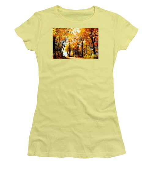 A Golden Day Women's T-Shirt (Athletic Fit)