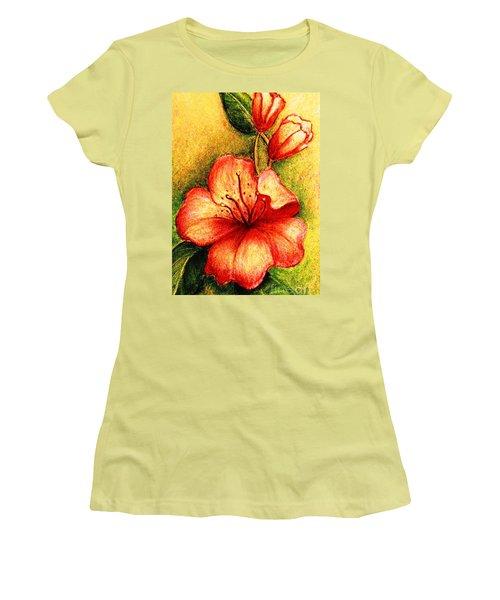 A Harbinger Of Springtime Women's T-Shirt (Junior Cut) by Hazel Holland