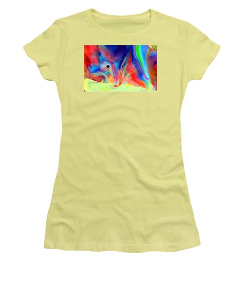 A Higher Frequency Women's T-Shirt (Athletic Fit)