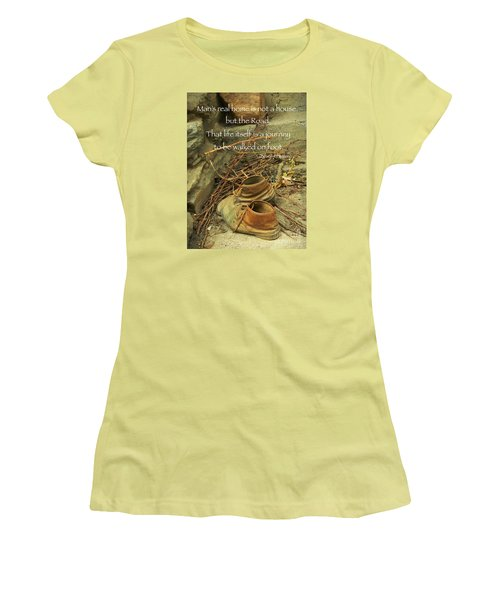 A Long Way Women's T-Shirt (Athletic Fit)