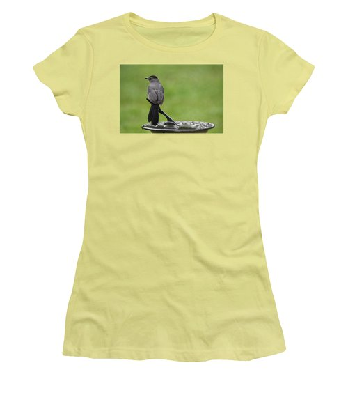 Women's T-Shirt (Junior Cut) featuring the photograph A Moment In Time by Trina  Ansel