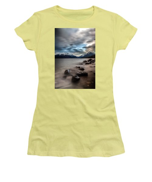 A Patch Of Blue Women's T-Shirt (Junior Cut) by Aaron Aldrich