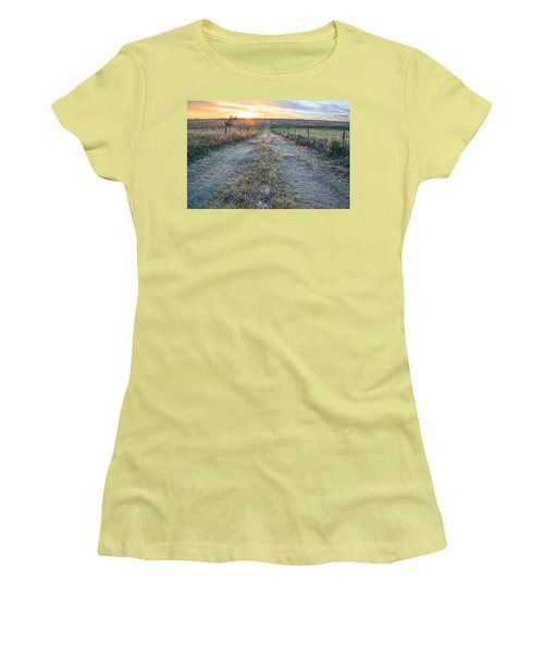 A Road Less Traveled Women's T-Shirt (Athletic Fit)