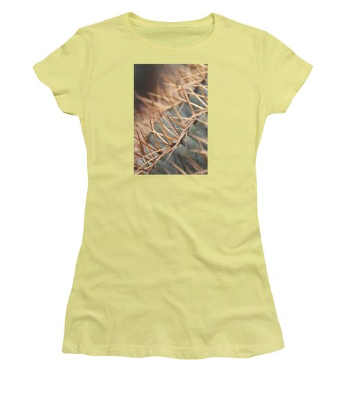 A Spiny Situation Women's T-Shirt (Junior Cut) by Amy Gallagher