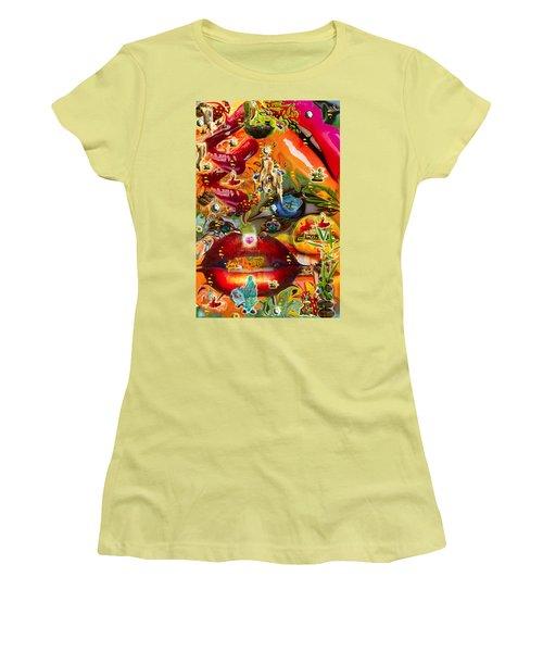 A Taste Of Healing Women's T-Shirt (Junior Cut) by Deprise Brescia