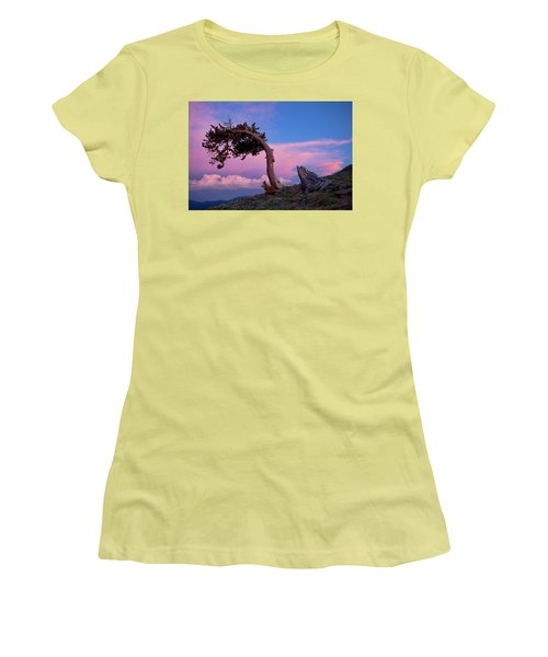 A Westerly Wind Women's T-Shirt (Junior Cut) by Jim Garrison