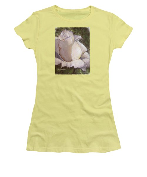 A Whiter Shade Of Pale Women's T-Shirt (Junior Cut) by Laurie Morgan