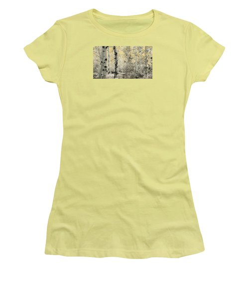 A Wisp Of Gold Women's T-Shirt (Junior Cut) by Don Schwartz