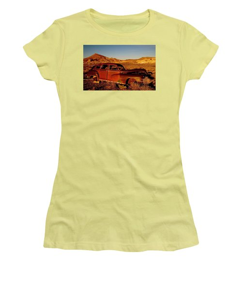 Abandoned And Forgotten Women's T-Shirt (Athletic Fit)