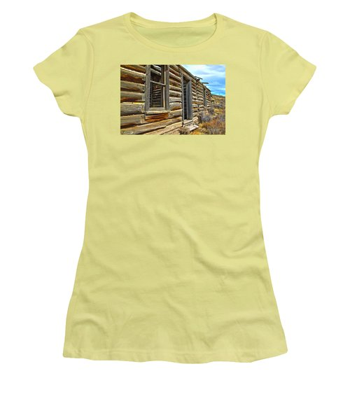 Abandoned Homestead Women's T-Shirt (Athletic Fit)