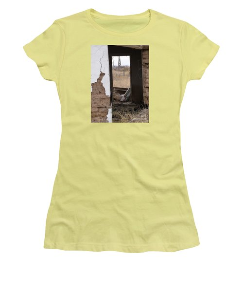 Abandoned In Texas Women's T-Shirt (Athletic Fit)