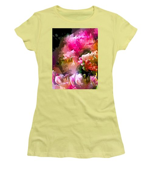 Abstract 272 Women's T-Shirt (Athletic Fit)