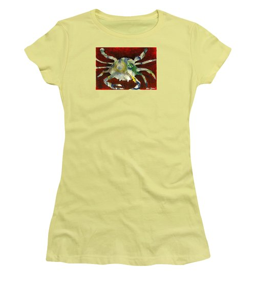Abstract Crab Women's T-Shirt (Athletic Fit)