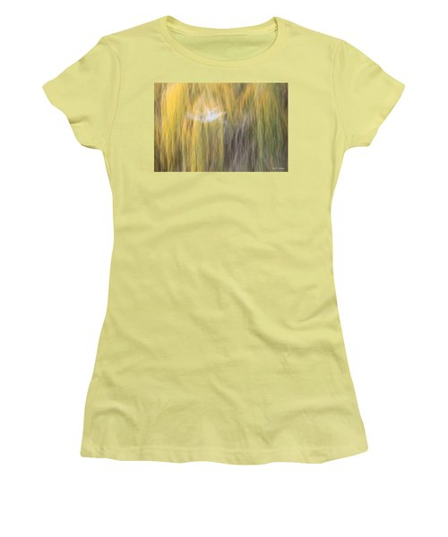 Women's T-Shirt (Junior Cut) featuring the photograph Abstract Haze by Amy Gallagher