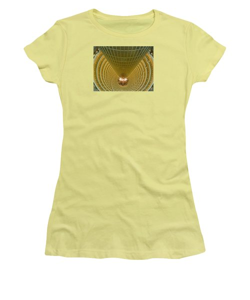 Abstract In Gold Women's T-Shirt (Athletic Fit)