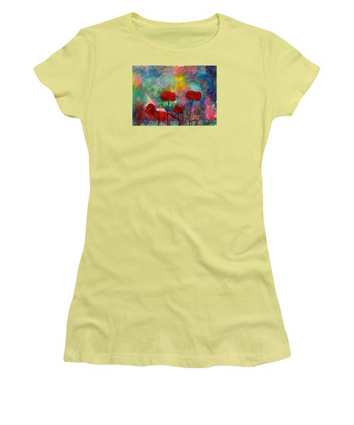 Acrylic Msc 078 Women's T-Shirt (Athletic Fit)