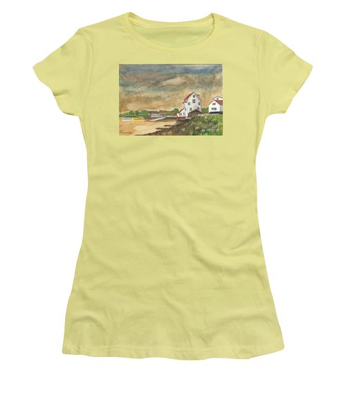 After The Storm Women's T-Shirt (Junior Cut) by John Williams