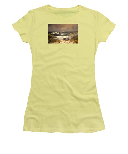 After The Storm Passed Women's T-Shirt (Athletic Fit)