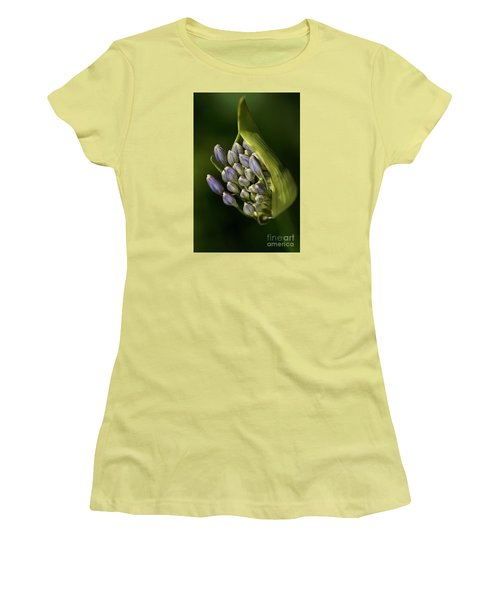 Women's T-Shirt (Junior Cut) featuring the photograph Agapanthus by Joy Watson