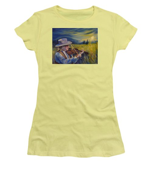 Alberta Lullaby Women's T-Shirt (Athletic Fit)