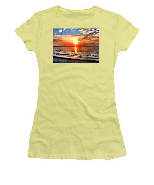Alignment Women's T-Shirt (Junior Cut) by Carlos Avila