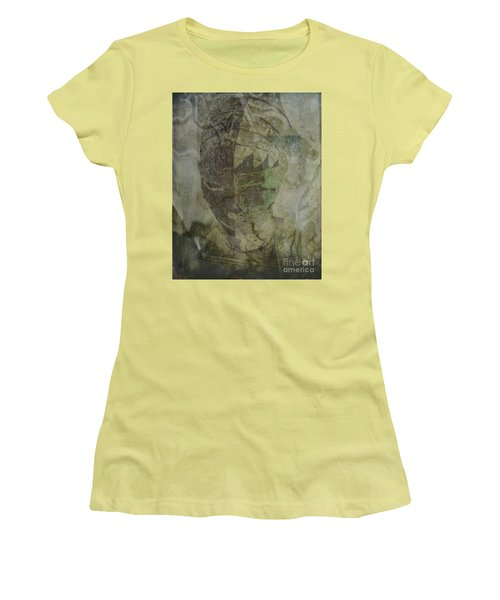 Women's T-Shirt (Junior Cut) featuring the photograph Almost Forgoten by Irma BACKELANT GALLERIES