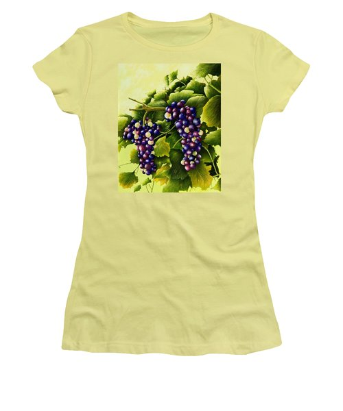 Almost Harvest Time Women's T-Shirt (Athletic Fit)
