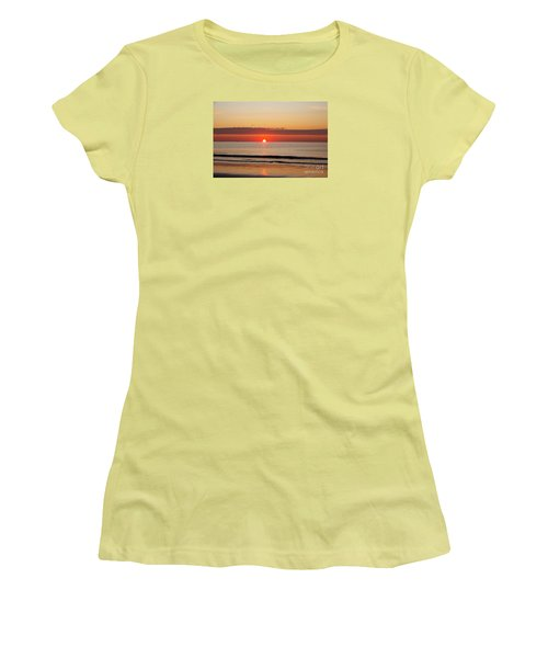 Women's T-Shirt (Junior Cut) featuring the photograph Almost Up by Eunice Miller
