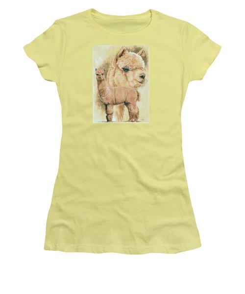 Alpaca Women's T-Shirt (Athletic Fit)