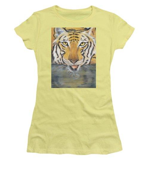 Always Watching  Women's T-Shirt (Junior Cut) by Patricia Olson
