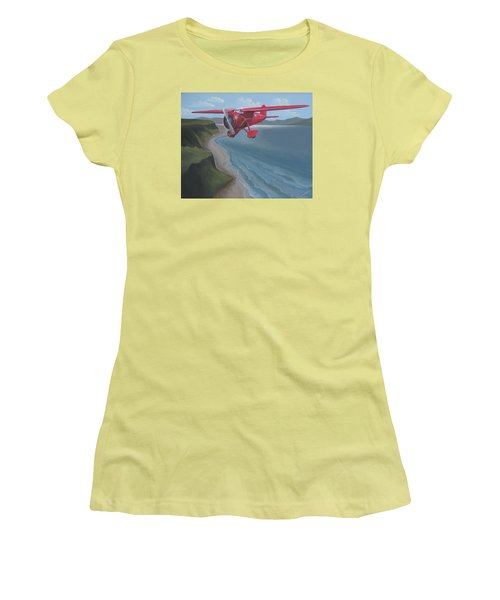 Amelia's Lockheed Vega Women's T-Shirt (Athletic Fit)