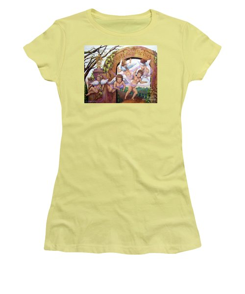 Angelika Women's T-Shirt (Athletic Fit)
