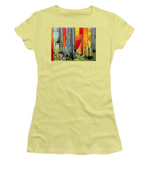 Anger Serves No Purpose Women's T-Shirt (Junior Cut) by Jason Williamson