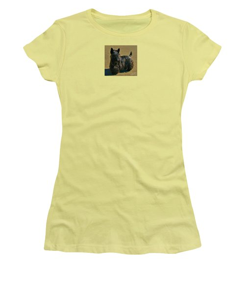 Women's T-Shirt (Junior Cut) featuring the photograph Angus by Michele Penner