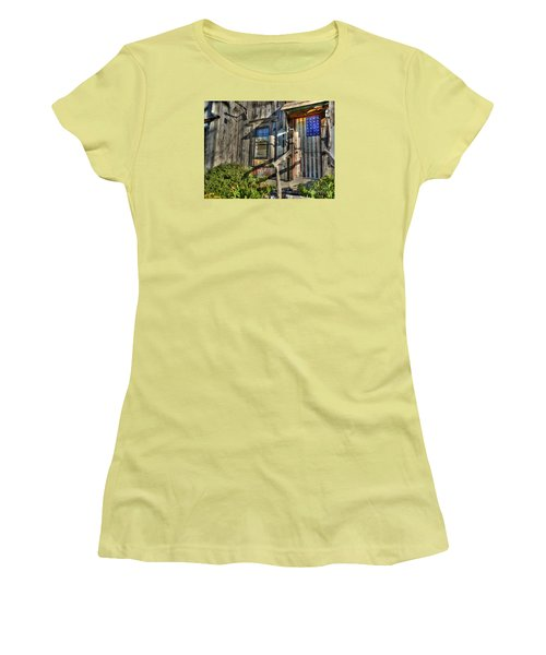 Another Faded Glory Women's T-Shirt (Junior Cut) by William Fields