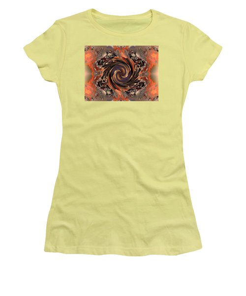 Another Swirl Women's T-Shirt (Junior Cut) by Claude McCoy