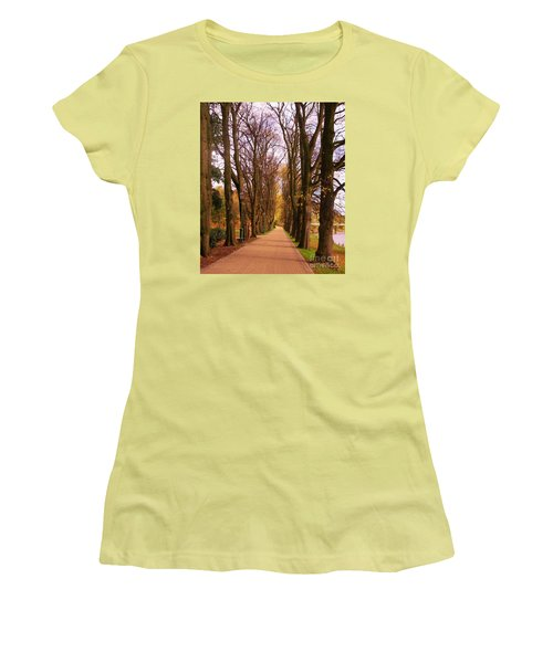Another View Of The Avenue Of Limes Women's T-Shirt (Athletic Fit)
