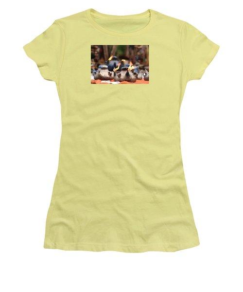 Arabic Oil Lamp Women's T-Shirt (Athletic Fit)