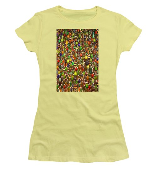 Army Of Beetles And Bugs Women's T-Shirt (Athletic Fit)