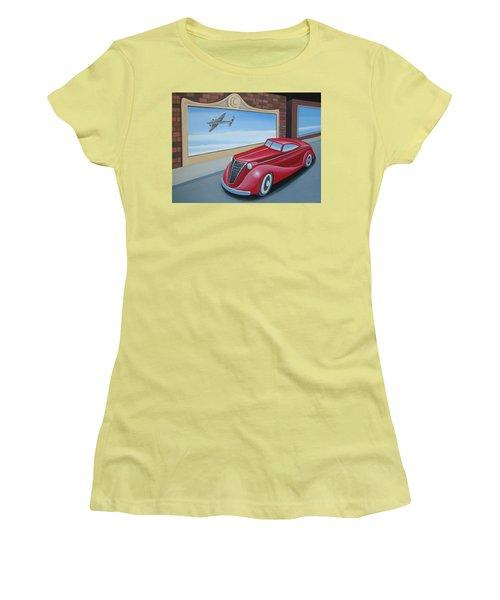 Art Deco Coupe Women's T-Shirt (Junior Cut) by Stuart Swartz