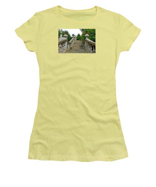 Ascending Garden Women's T-Shirt (Athletic Fit)