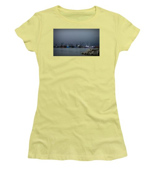 Astoria Safe Harbor Women's T-Shirt (Junior Cut) by Chalet Roome-Rigdon