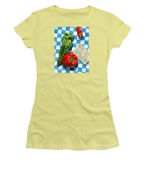 Aunt Rosa's Cornbread Women's T-Shirt (Athletic Fit)