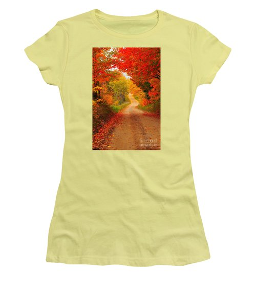 Autumn Cameo Women's T-Shirt (Athletic Fit)