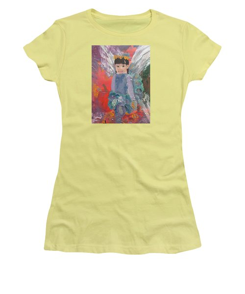 Autumn Fairy Women's T-Shirt (Athletic Fit)