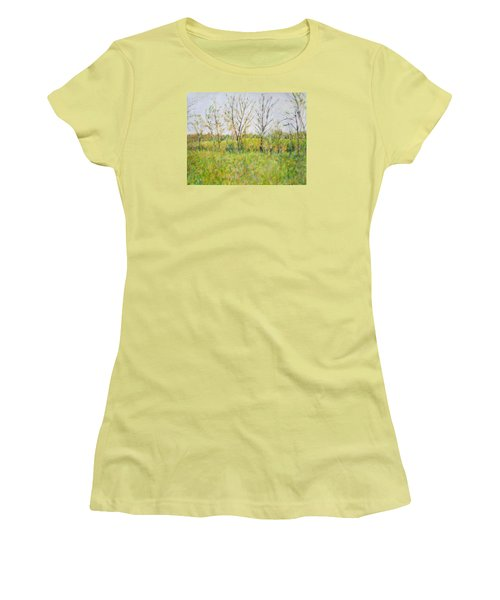 Autumn In Kentucky Women's T-Shirt (Athletic Fit)